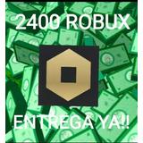 Robl0x  Rbx  2400 Saldo . $robux Robux.