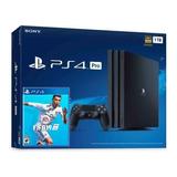Playstation 4 Pro Ps4 Pro Con Juego Equipo Nuevo