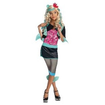 Monster High Lagoona Azul Traje - Un Color - Grande