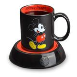 Taza Original Mickey Mouse Con Calentador Disney