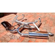 Kit Headers Vocho Carburado Fat Boy Doble Miller