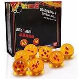 Set De 7 Esferas Del Dragón + Estuche!! (4.5cm)