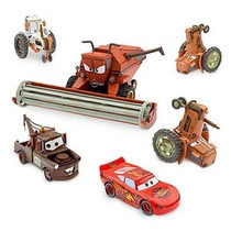 Disney Cars Set Tractor Tipping Frank Tractores Rayo Y Mate