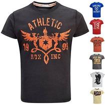 Formación Rdx Mma Boxeo T Shirts Tops Ejercicio Deportes Cam