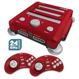 Retron 3 Consola 3 En1 Nes Snes Genesis 2.4 Ghz  Red