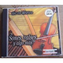 Sones Valses Y Algo Mas Cd Especial Novedades Unica Ed 2000