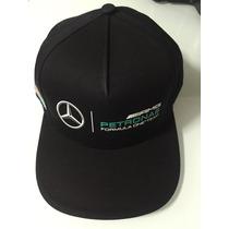 Gorra Plana F1 Mercedes Amg Petronas, Producto Original