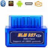 Escaner Automotriz Mini Elm327 Obd2 V2.1 Bluetooth Android