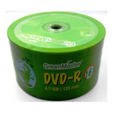 50 Dvd Green Master Logo 4.7 Gb 16x Precio Facturado Full