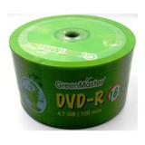 50 Dvd Green Master Logo 4.7 Gb 16x Precio Facturado Full