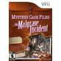 Mystery Case Files: El Incidente De Malgrave - Nintendo Wii