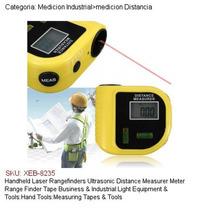 Telemetro Laser Ultrasonico Medidor De Distancia Con Nivel