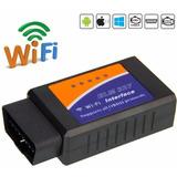 Elm327 Obd2 Escáner Automotriz Wifi Para Android Windows Ios