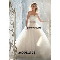 Vestidos Novia Baratos Nuevos Sirena Princesa Ivory Blanco26
