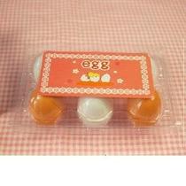 6pcs Yema De Huevos De Madera Juego De Imaginación De La Coc
