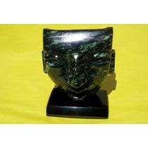 Mascara Mortuoria Teotihuacana En Jade 109