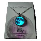 Collar Luna De Plata! Brilla En Oscuridad/modelo Original