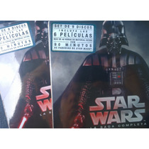 Star Wars,box Set Bluray. Completa Envió Gratis Estafeta