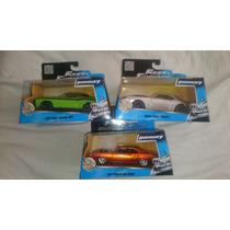 Rápido Y Furioso Fast And Furious 3 Autos 1:32 De Colección
