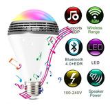 Foco Bluetooth, Rgb, Bocina, Control