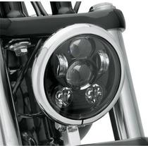 Foco Principal Led Harley Davidson 5.75 45 Watts Negro