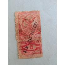 Estampilla Timbre Postal 1904-1905 Mexico-usa Unico