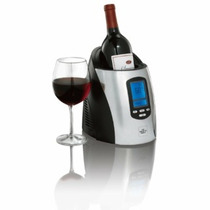 Enfriador De Vinos Digital Programable The Sharper Image Maa