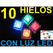 10 Cubos Con Luz Para Fiestas, Eventos, Animación, Luminosos