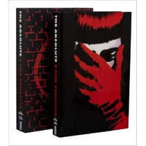 Libro Absolute V For Vendetta V De Venganza De Coleccion!
