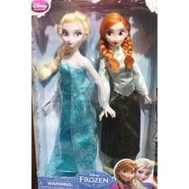 Frozen Muñecas Ana Y Elsa Con Patines De Disney