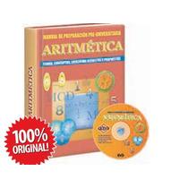 Aritmética, Libro De Preparación Pre Universitaria + Dvd