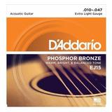Daddario Cuerda Para Guitarra Acustica Ej15