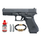 Pistola Glock 17 Gen 4 Co2 Balines Postas Umarex Blowback Mx