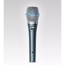 Shure Beta 87a Micrófono Para Estudio Y Escenario.
