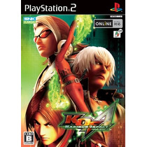The King Of Fighters Maximum Impact Regulation A Ps2 Japones