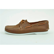 Zapato De Piel Top Sailer Modelo 501 Honey