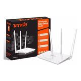 Repetidor Y Router Tenda F3  3 Antenas 300 Mbps Wisp