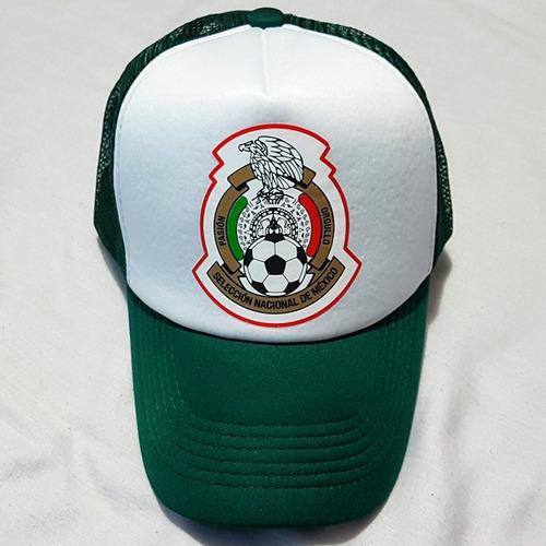 Gorra Seleccion Mexicana Trucker Camionero Red Malla Nuevas en venta ... d3550b240f2