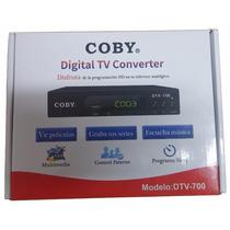 Decodificador Digital Tv Coby Dtv-700 10 Pzas Mayoreo