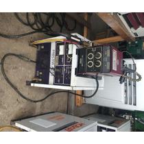 Máquina De Soldar Micoalambre Hobart 4030 Funcionando