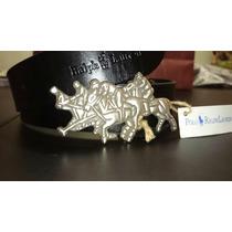 Cinturón Italiano Ralph Lauren.. Gucci Vuitton Armani Hugo