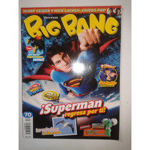 Revista Big Bang #70 Super Man Regresa Por Ti Lbf