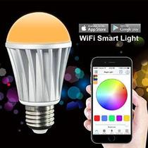 Bombilla Magiclight 7w Multicolor Wifi Led Inteligente Funci