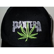 Pantera Gorra Bordada Nueva