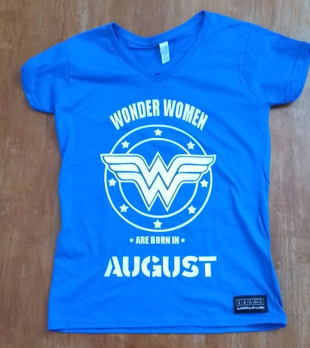 d89d45f8cff3b Sarcasmo Playera Wonder Women Personalizala Con Tu Mes!