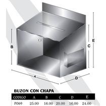 Buzón De Sugerencias Acrilico 3mm Con Chapa Modp069