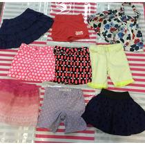Lote De Shorts Y Faldas Niña