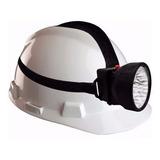 Linterna Tipo Minero Ajustable Para La Cabeza Lámpara 7 Leds