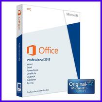 Office Professional Plus 2013 Licencia Original 1 Pc