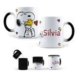 Taza Mágica Snoopy Personalizada